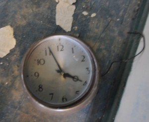 Synchronome Slave Clock as found.